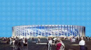 Футбольный стадион в Нижнем Новгороде