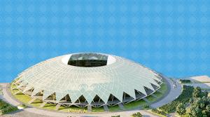 Футбольный стадион в Самаре