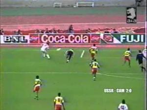 СССР – Камерун на ЧМ-1990