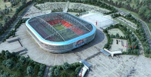Строительство стадиона к ЧМ-2018 в Ростове