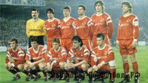 спартак 1990-1991